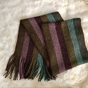 Cejon Accessories - Striped Knit Scarf